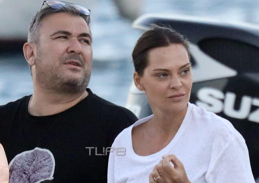 Αντώνης Ρέμος - Υβόννη Μπόσνιακ: Βόλτα με το σκάφος και full in love στην Μύκονο! [pics]