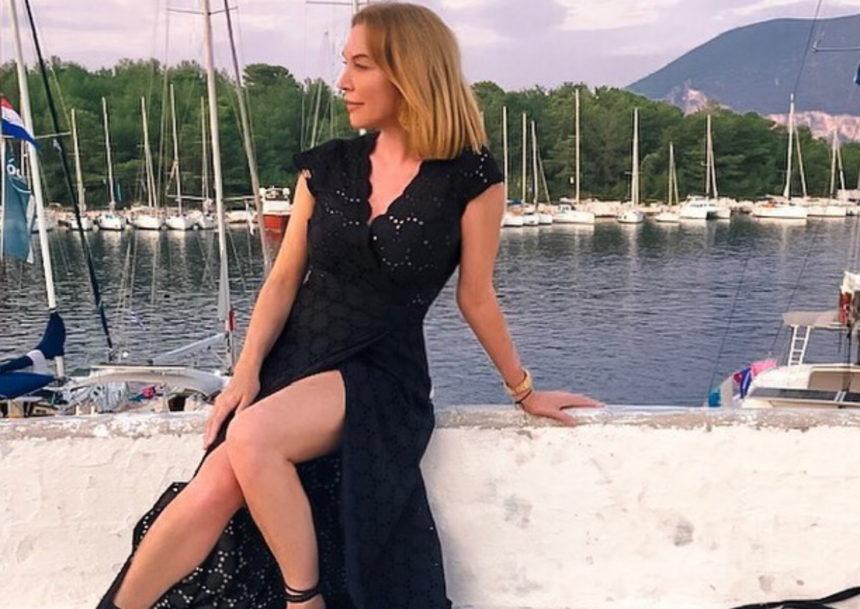 Τατιάνα Στεφανίδου: Η θεαματική βουτιά από το σκάφος στη θάλασσα! [pic] | tlife.gr