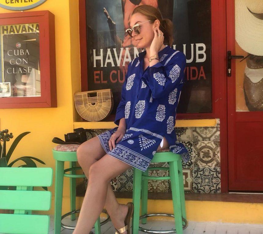 Τατιάνα Στεφανίδου: Εξόρμηση στην Κεφαλλονιά! Ποζάρει με φόντο το Φισκάρδο [pic]   tlife.gr
