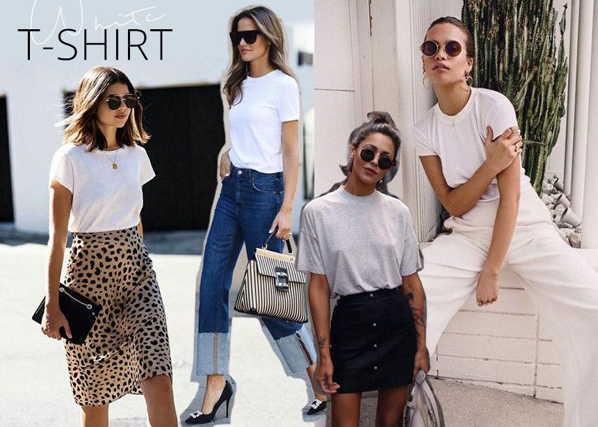 Το λευκό t-shirt μπορείς να το φοράς όλο τον χρόνο και να σε βγάζει πάντα ασπροπρόσωπη!Δες γιατί | tlife.gr