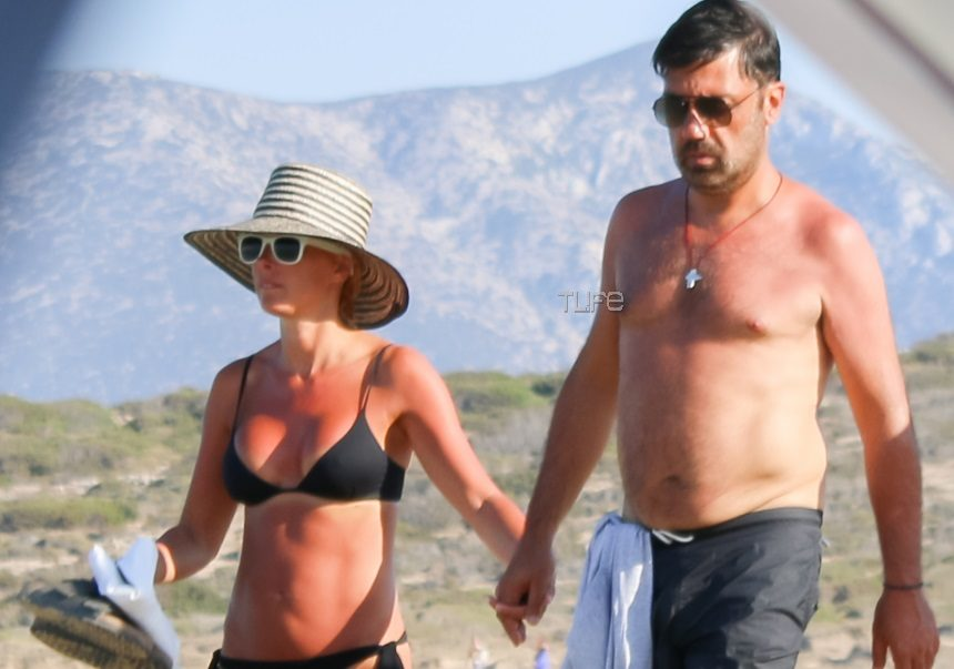 Γιώργος Θεοφάνους: Χέρι - χέρι με την γυναίκα του Βίλλυ στα Κουφονήσια! [pics]