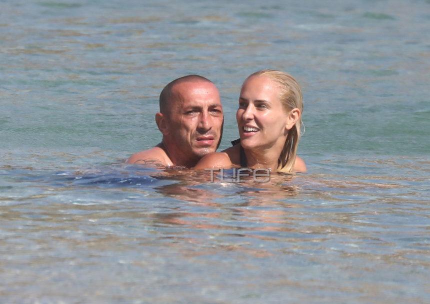 Έλενα Ασημακοπούλου – Μπρούνο Τσιρίλο: Τα παιχνίδια με την 8,5 ετών κόρη τους στη θάλασσα! [pics] | tlife.gr