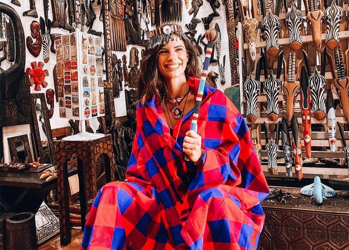 Χριστίνα Μπόμπα: Ενθουσιασμένη με το ταξίδι της! Έκανε για πρώτη φορά σαφάρι [video] | tlife.gr
