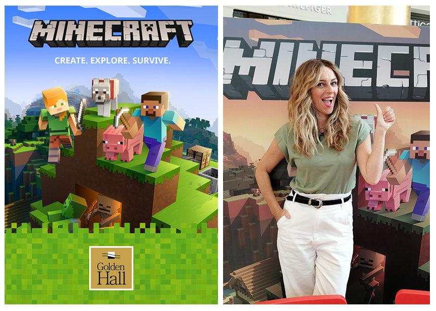 To Minecraft στο Golden Hall! | tlife.gr