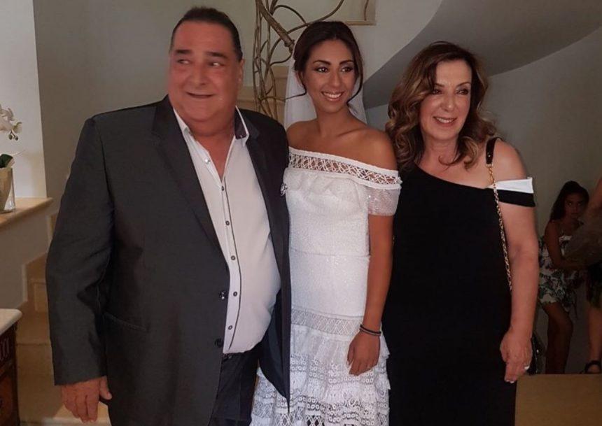 Βασίλης Καρράς: Πάντρεψε την κόρη του στη Θεσσαλονίκη! [pics, video]