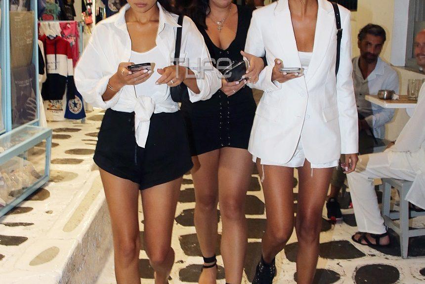 Διάσημη ηθοποιός και μοντέλο της Victoria's Secret κάνουν διακοπές στην Μύκονο! Φωτογραφίες | tlife.gr
