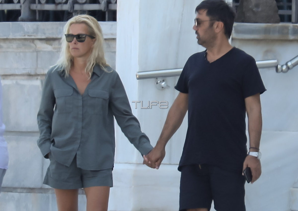 Γιώργος και Βίλλυ Θεοφάνους: Είναι αχώριστοι! Χέρι-χέρι στις Σπέτσες! [pics] | tlife.gr