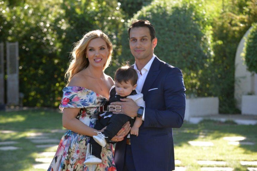 Χριστίνα Αλούπη – Κωνσταντίνος Κέφαλος: Το φωτογραφικό άλμπουμ της βάφτισης του γιου τους! | tlife.gr