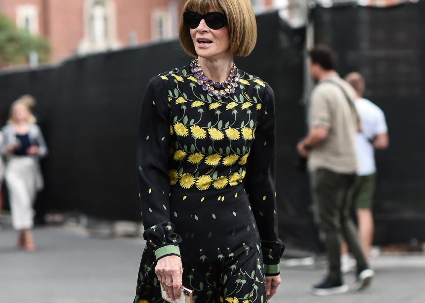 Οοοps! H Αnna Wintour φόρεσε το ίδιο φόρεμα δύο φορές! | tlife.gr