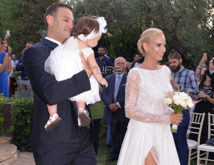 Άννη Πανταζή: Παντρεύτηκε τον αγαπημένο της και βάφτισαν την κόρη τους - Φωτογραφίες