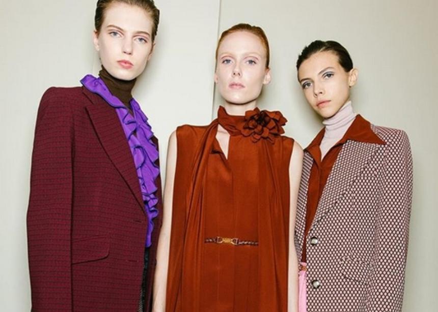 Backstage φωτογραφίες από τα show της London Fashion Week! | tlife.gr
