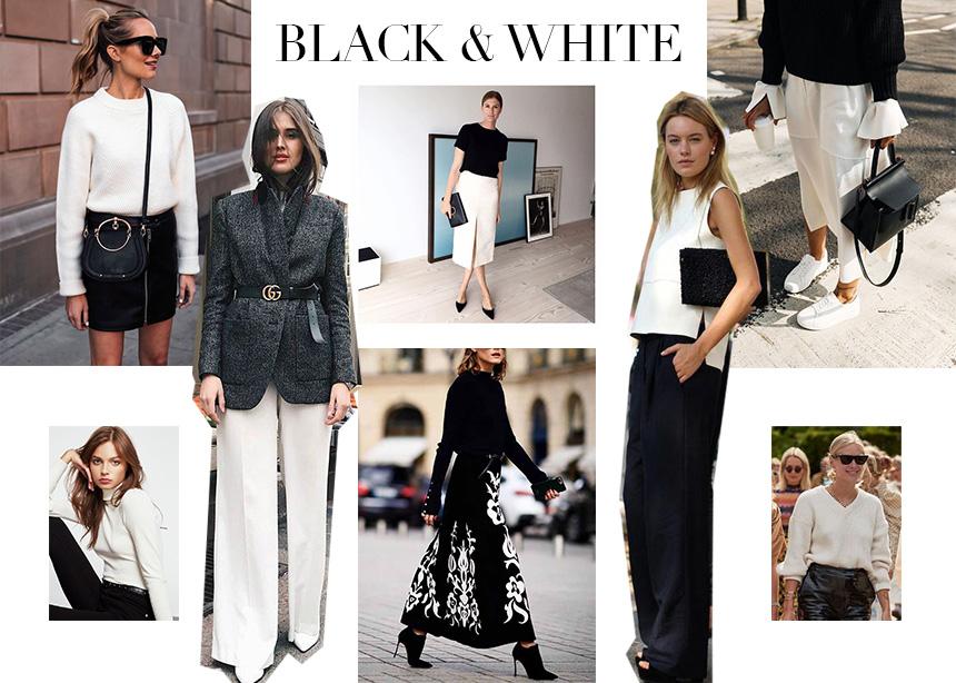 Black & White: Aυτός ο συνδυασμός δεν φεύγει ποτέ από την μόδα | tlife.gr