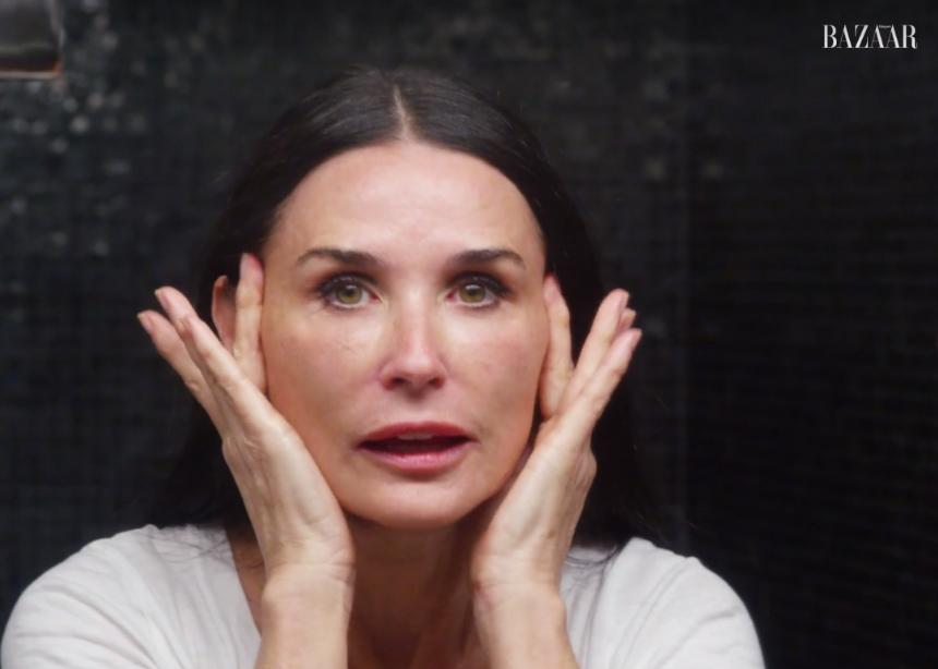 Η Demi Moore δείχνει το beauty routine της πριν πέσει για ύπνο! | tlife.gr