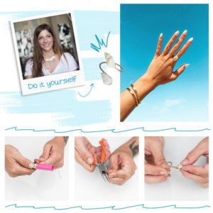DIY: Η Πόπη Αναστούλη σου δείχνει πως να φτιάξεις ένα δαχτυλίδι με κοχύλι!