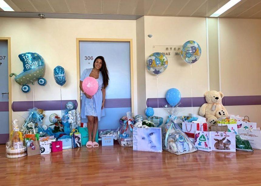 Φελίσια Λαπάτη: Το πρώτο μήνυμα μετά τη γέννηση του γιου της! Πώς θα τον ονομάσουν; [pics] | tlife.gr