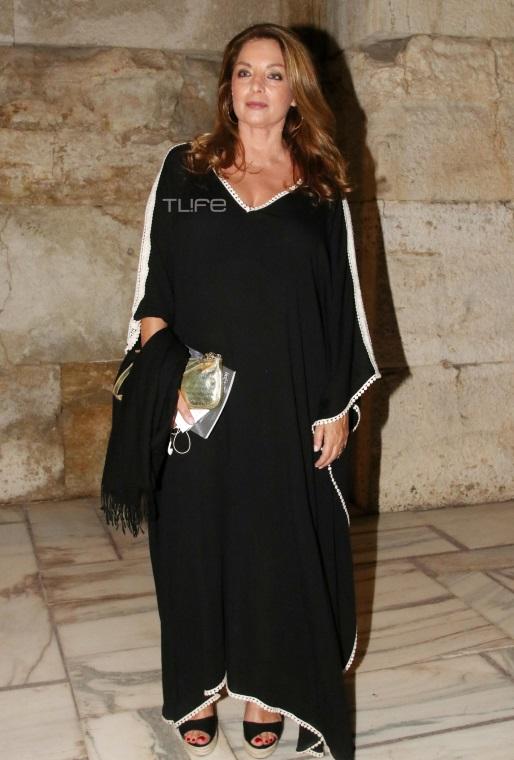 Άντζελα Γκερέκου: Chic εμφάνιση με total black στο Ηρώδειο [pics]