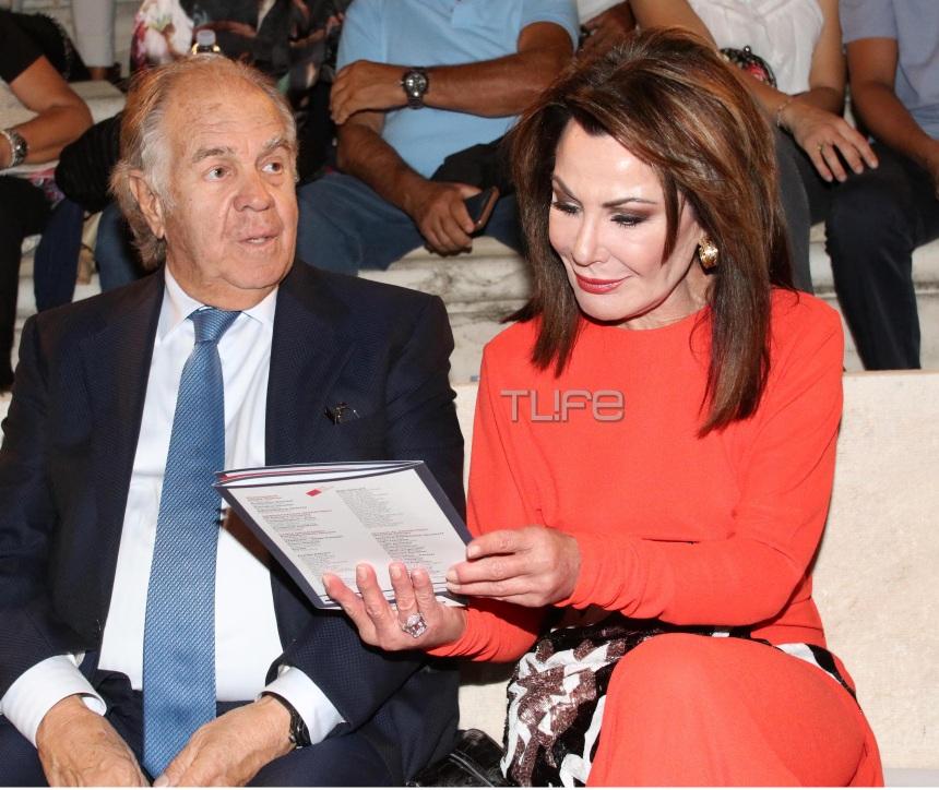 Γιάννα Αγγελοπούλου: Εντυπωσιακή εμφάνιση στο Ηρώδειο με τον σύζυγο και το γιο της! Φωτογραφίες | tlife.gr