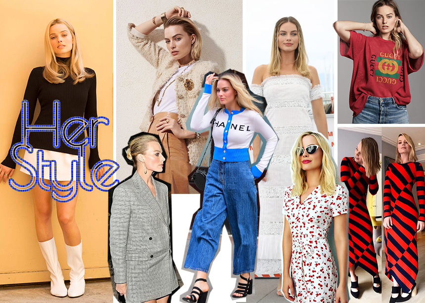 Margot Robbie: To style της νέας αγαπημένης του Ηollywood!