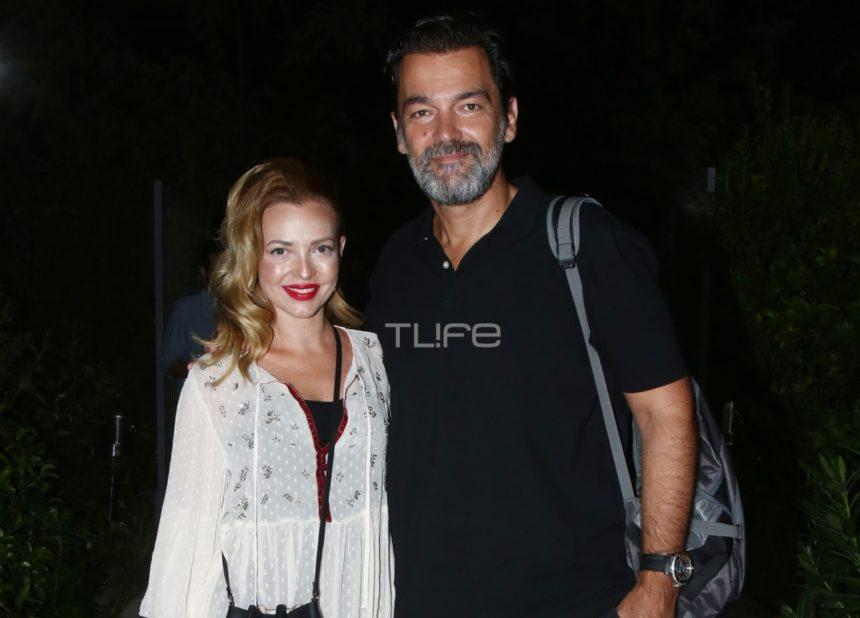 Κωνσταντίνος Καζάκος - Ιωάννα Μαρτζούκου: Βραδινή έξοδος στο θέατρο για το ερωτευμένο ζευγάρι [pics]