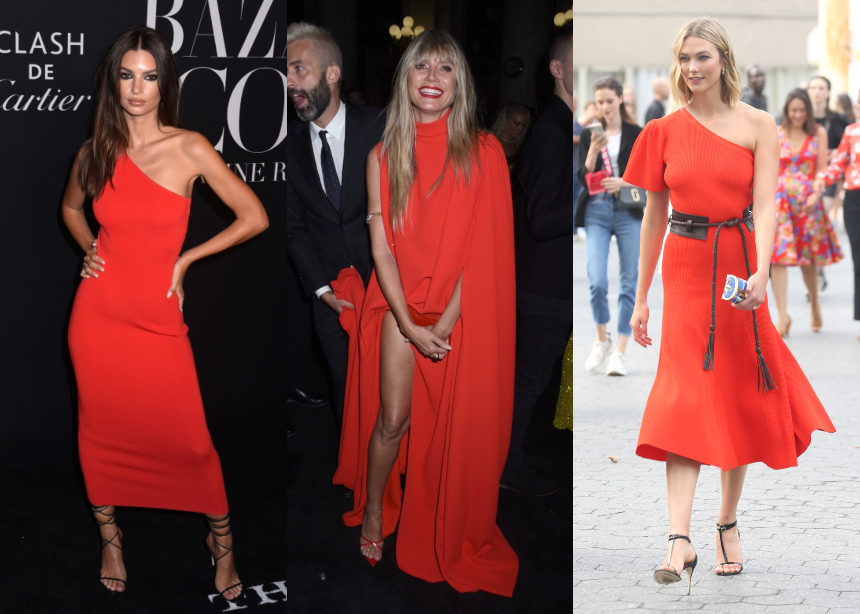 Oι star με εντυπωσιακά κόκκινα φορέματα