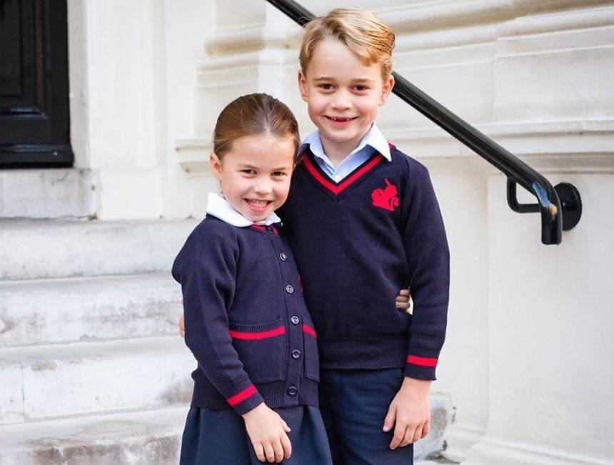 Ο πρίγκιπας George και η πριγκίπισσα Charlotte της Αγγλίας ξεκίνησαν σχολείο! Φωτογραφίες | tlife.gr