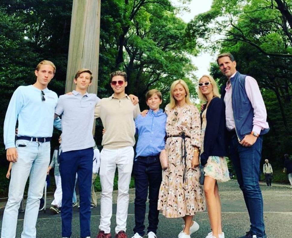 Marie Chantal: Γιόρτασε τα γενέθλιά της μαζί με τον γιο της! Το χλιδάτο γιορτινό τραπέζι