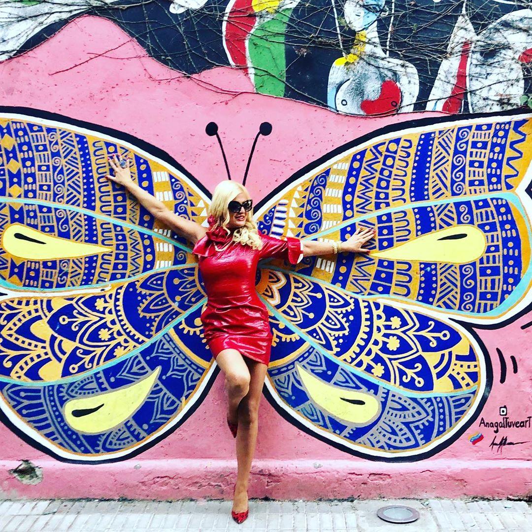 Φωτιά στα… κόκκινα για την Μαρίνα Πατούλη! Οι εκπληκτικές φωτογραφίες στο Μπουένος Άιρες | tlife.gr