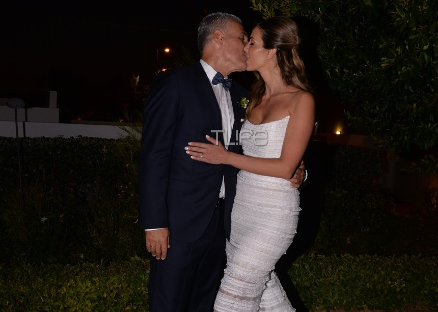 Λαζαράτου – Σταθάτος: Όλα όσα έγιναν στην γαμήλια δεξίωση! Ο ξέφρενος χορός της Χρουσαλά [pics,vids] | tlife.gr