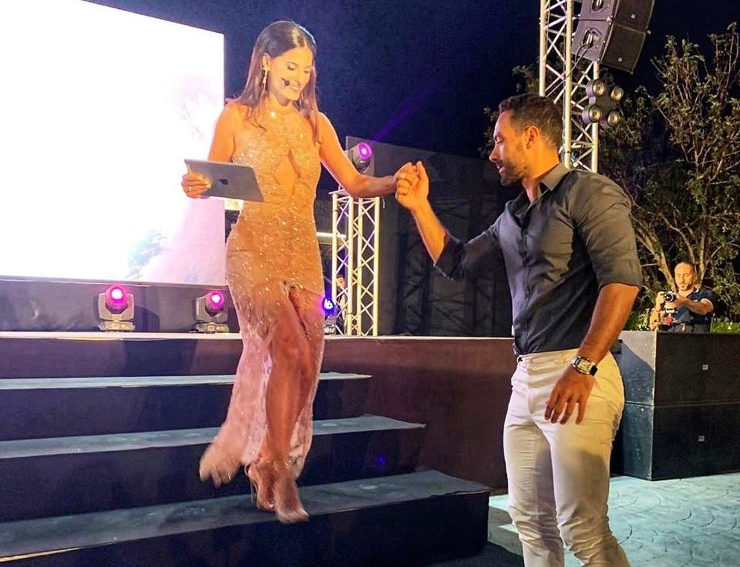 Σάκης Τανιμανίδης: Δεν έφυγε λεπτό χθες από το πλευρό της Χριστίνας Μπόμπα στα γυρίσματα του Voice!