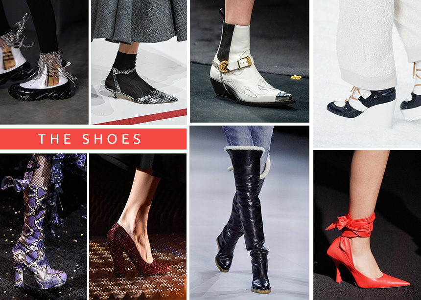 Φθινόπωρο Χειμώνας 2020: Τα ωραιότερα παπούτσια πoυ είδαμε στα catwalks! | tlife.gr