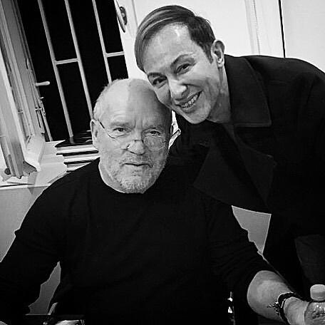 Βασίλειος Κωστέτσος: Όταν συναντήθηκε στο Παρίσι με τον διάσημο Peter Lindbergh που έφυγε από τη ζωή! [pics] | tlife.gr