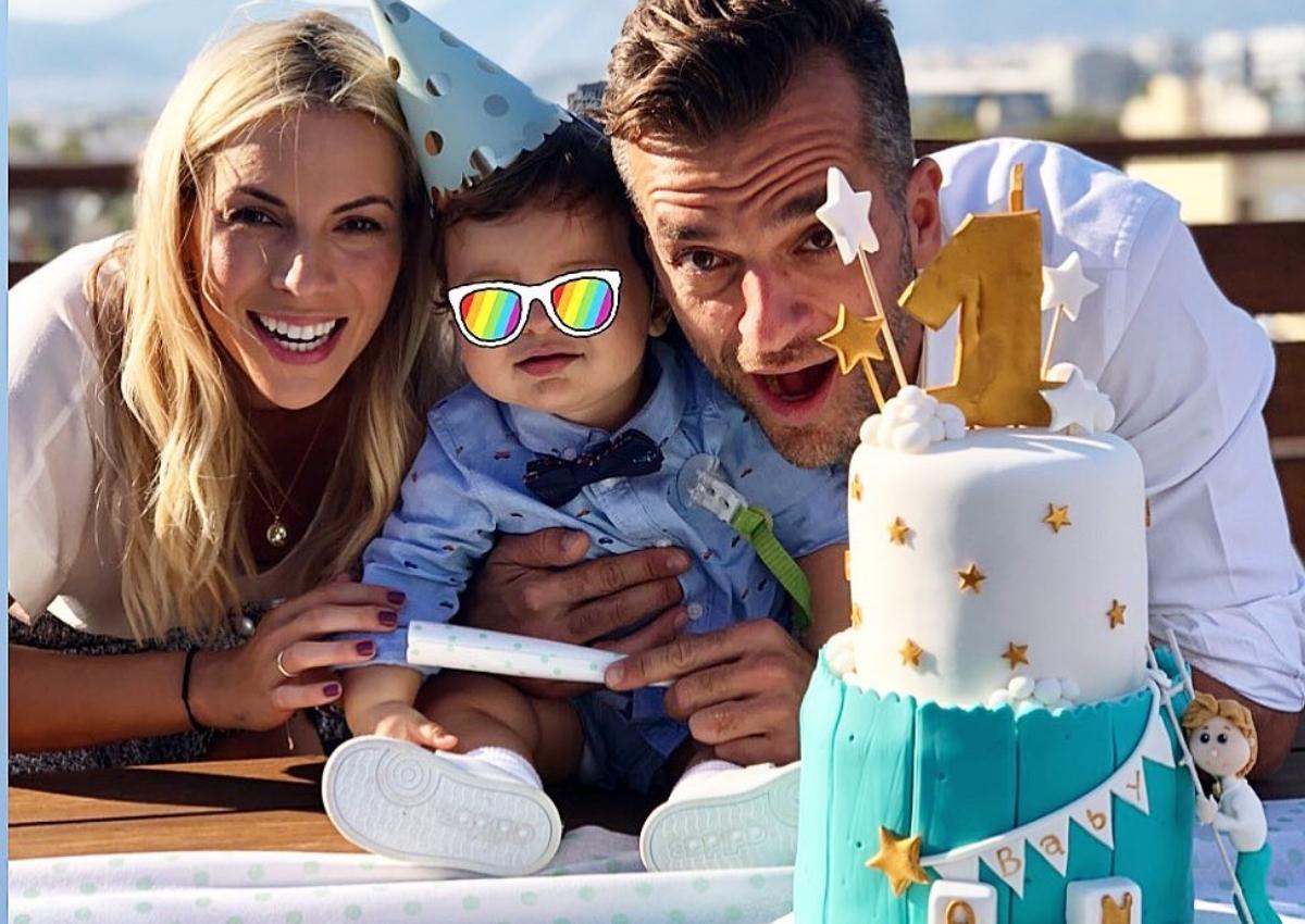 Μαρία Λουίζα Βούρου: Το πάρτυ για τα πρώτα γενέθλιά του γιου της!