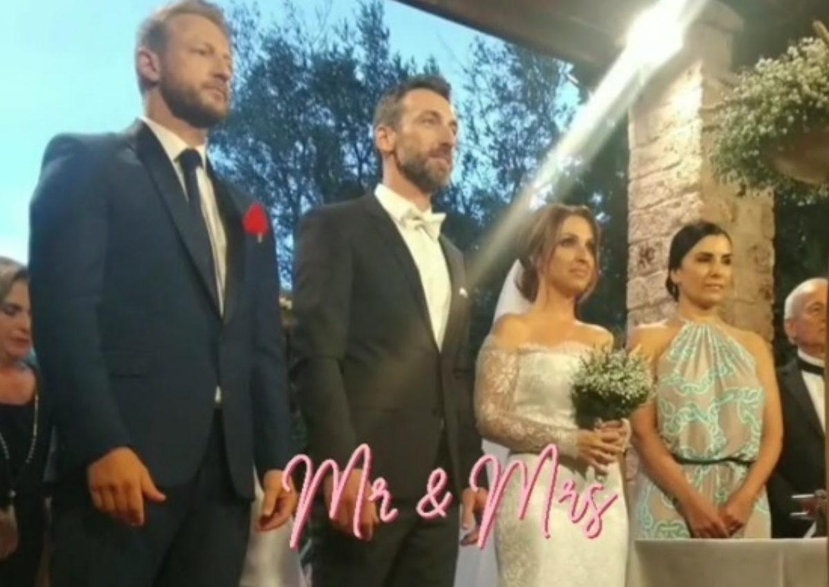 Ζωή Παπαδοπούλου – Θοδωρής Πλεμμένος: Παντρεύτηκαν με κουμπάρο τον Κώστα Καραφώτη! [pics,video] | tlife.gr