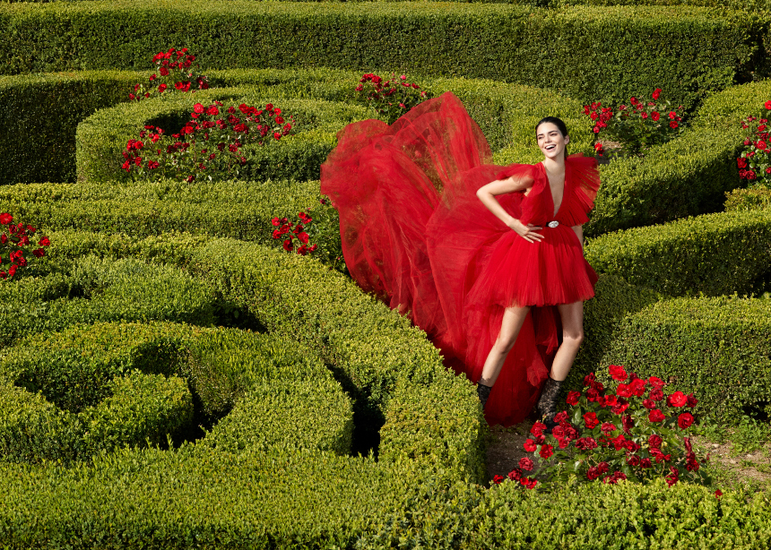 H Kendall Jenner και η Chiara Ferragni στην campaign Giambattista Valli x H&M | tlife.gr