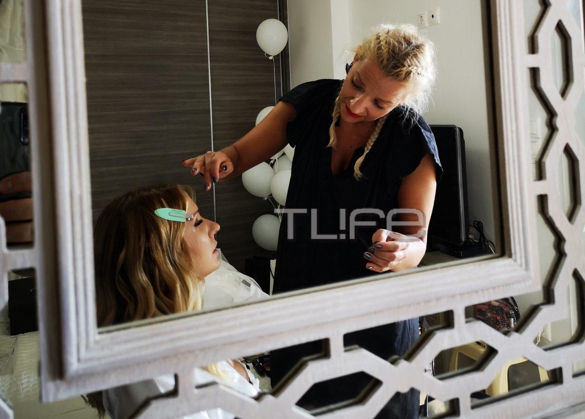 Γάμος ΜαίρηςΑρώνη – Σπύρου Σιγούρου: Το TLIFE στην προετοιμασία της νύφης! [pics] | tlife.gr