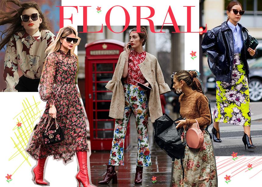 Floral: Είσαι έτοιμη να φορέσεις αυτή την τάση και τον χειμώνα; Styling tips από την fashion editor | tlife.gr