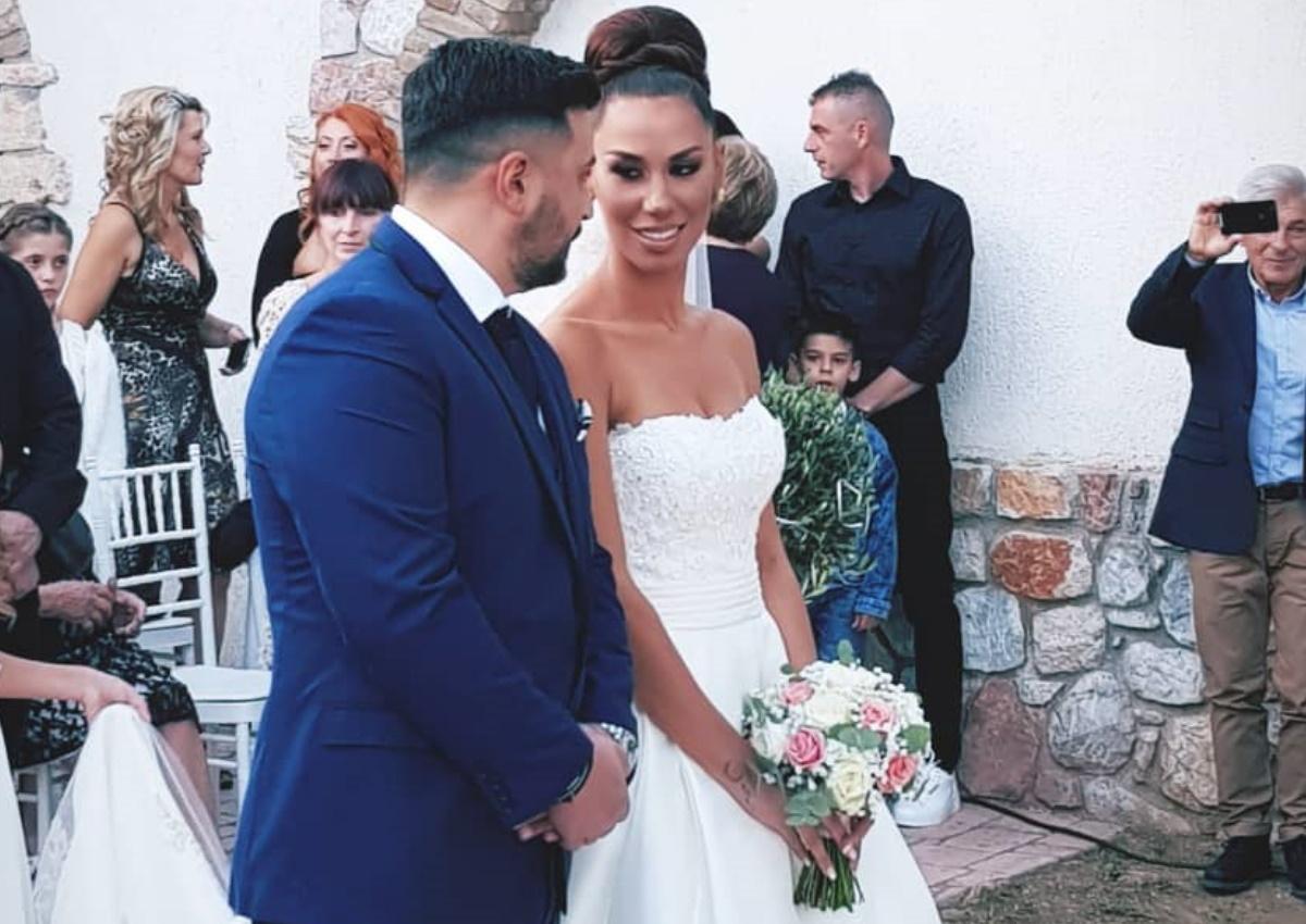Πωλίνα Φιλίππου – Τριαντάφυλλος Παντελίδης: Παντρεύτηκαν με θρησκευτικό γάμο και βάφτισαν την κόρη τους! [pics,video]