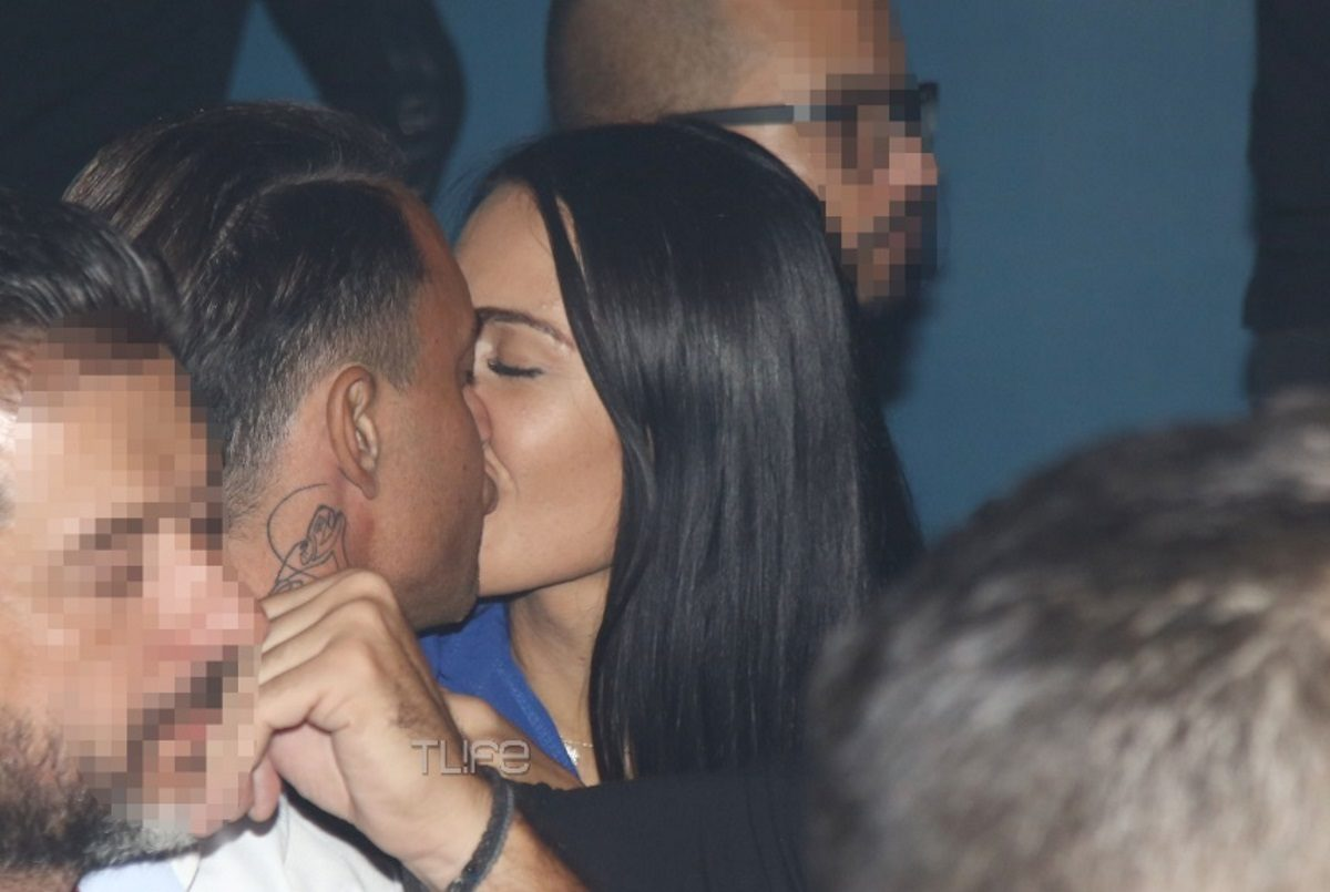 Πωλίνα Τριγωνίδου – Γιώργος Καβακάκης: Το νέο ζευγάρι της showbiz! Καυτά φιλιά σε βραδινή έξοδο [pics] | tlife.gr