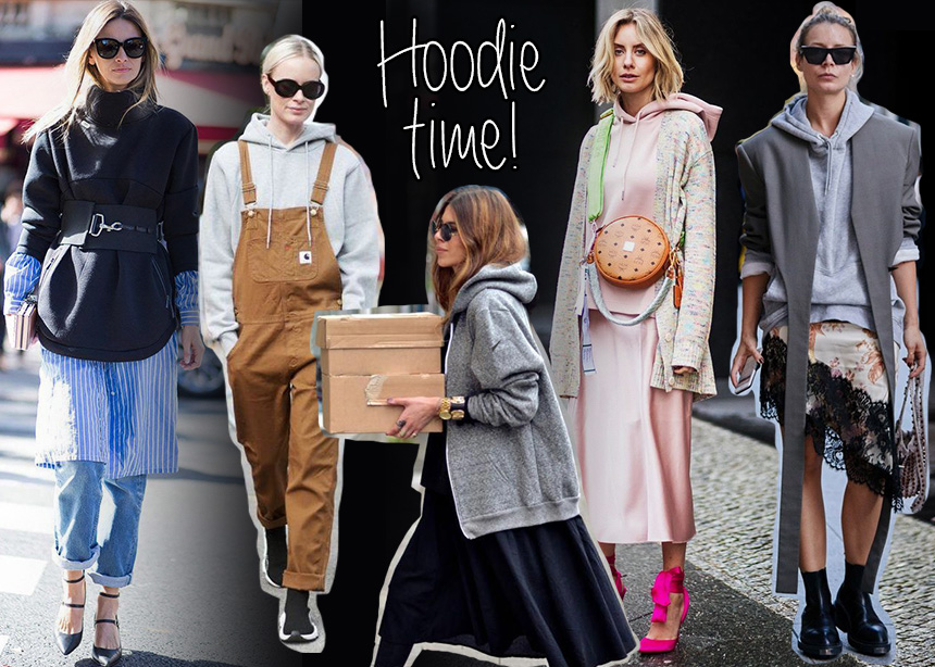 Kαιρός για hoodie…Φόρεσε το όπως οι influencers! | tlife.gr