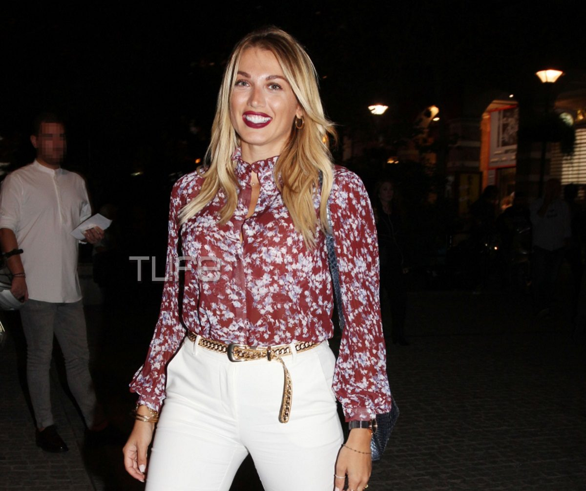 Κωνσταντίνα Σπυροπούλου: Chic εμφάνιση σε βραδινή της έξοδο στο κέντρο της Αθήνας! [pics]   tlife.gr