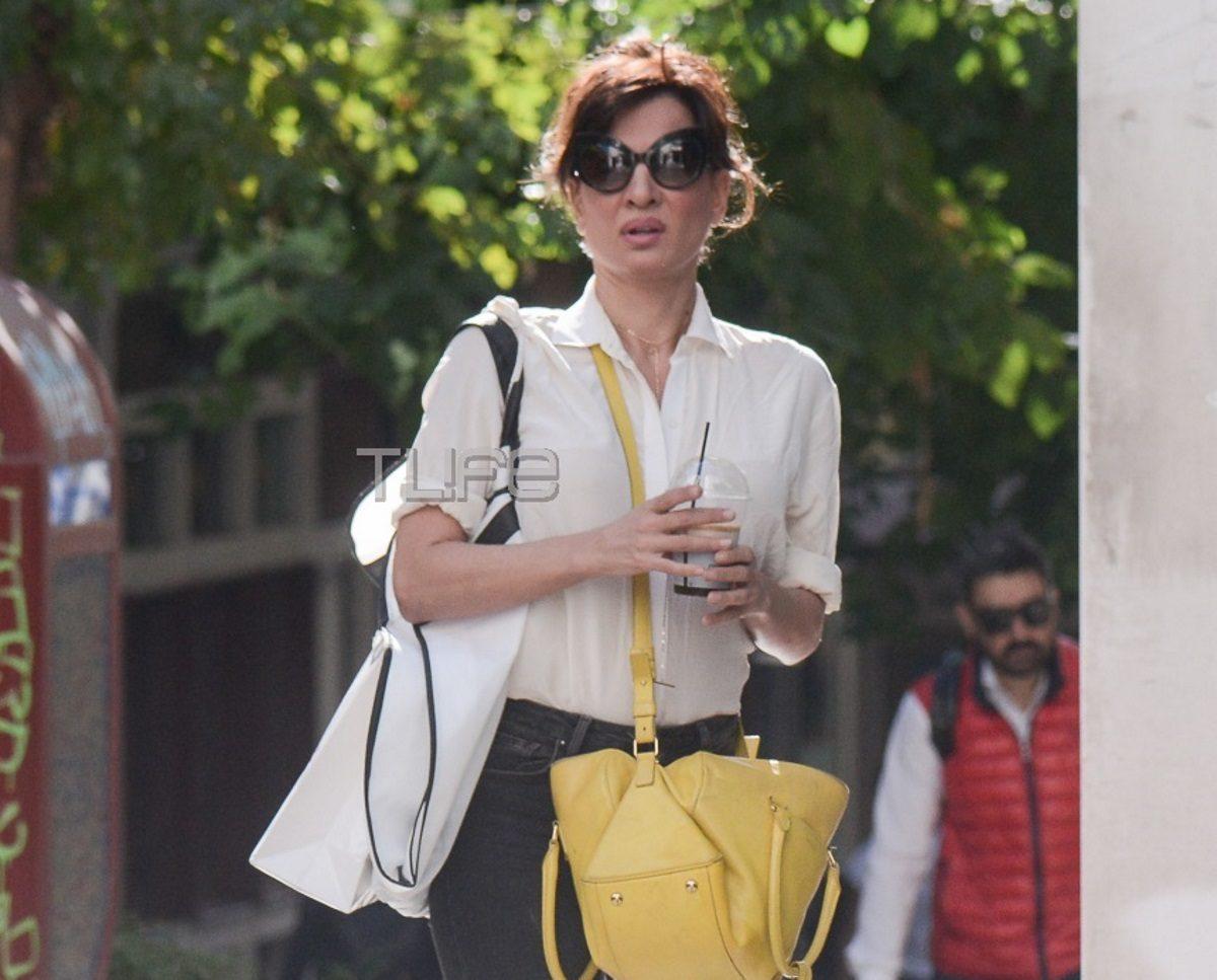 Δήμητρα Ματσούκα: Απολαμβάνει τις βόλτες της στην ηλιόλουστη Αθήνα! Φωτογραφίες | tlife.gr