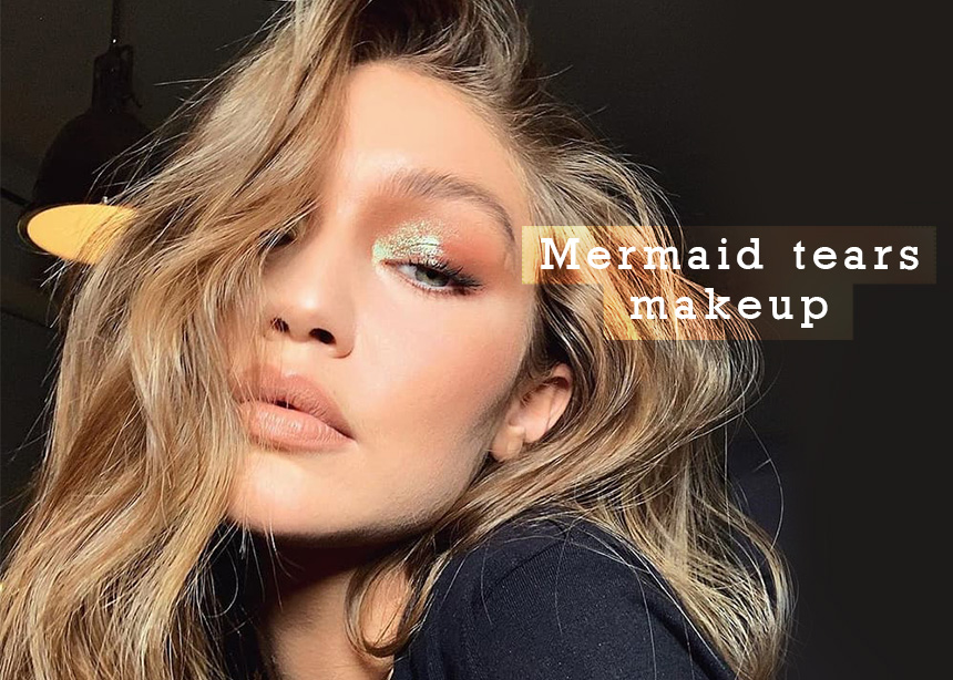 Mermaid tears: Ο νέος τρόπος να φοράς την σκιά σου είναι στην εσωτερική γωνία! | tlife.gr