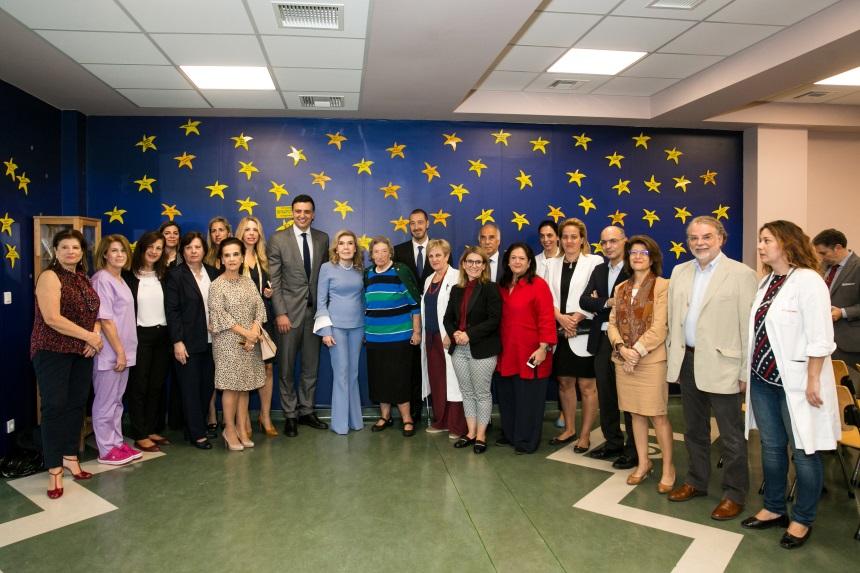 Βασίλης Κικίλιας: Επισκέφτηκε την Ογκολογική Μονάδα Παίδων «Μαριάννα Β. Βαρδινογιάννη – ΕΛΠΙΔΑ»!