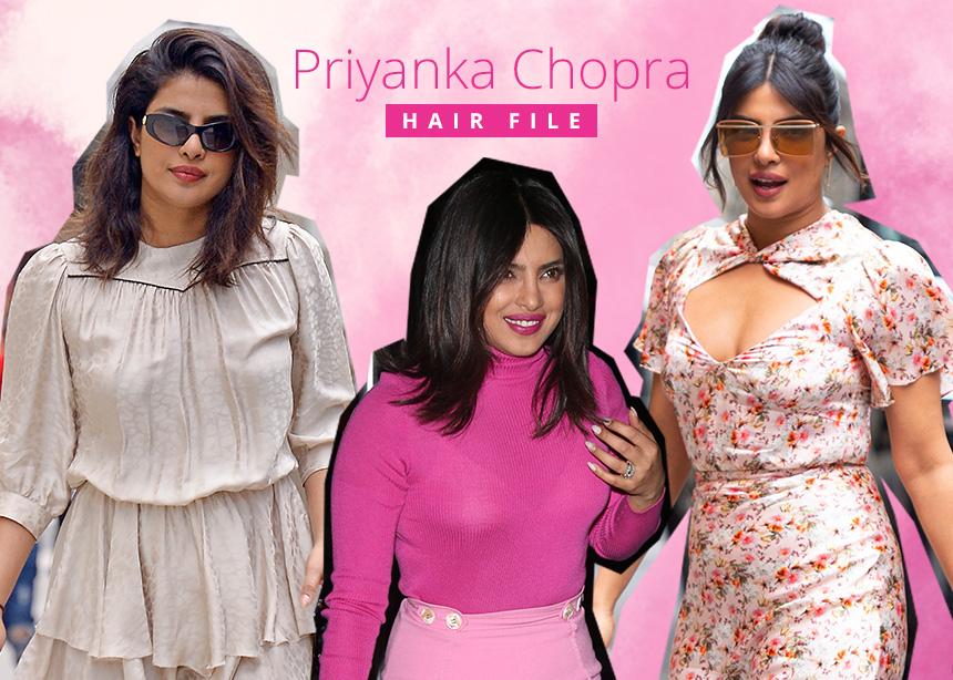 Η Priyanka Chopra άλλαξε πέντε διαφορετικά χτενίσματα σε 48 ώρες! Πάρε ιδέες! | tlife.gr
