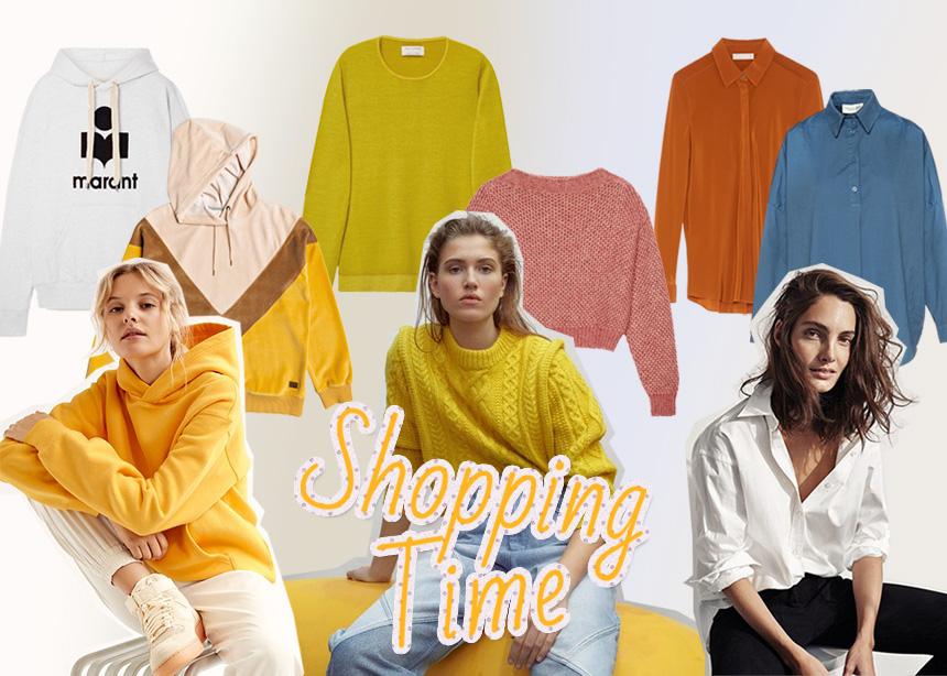 Shopping time!Ηοοdies, πλεκτά, πουκάμισα. Πήγαμε στα μαγαζιά και σου διαλέξαμε τα πιο ωραία!   tlife.gr