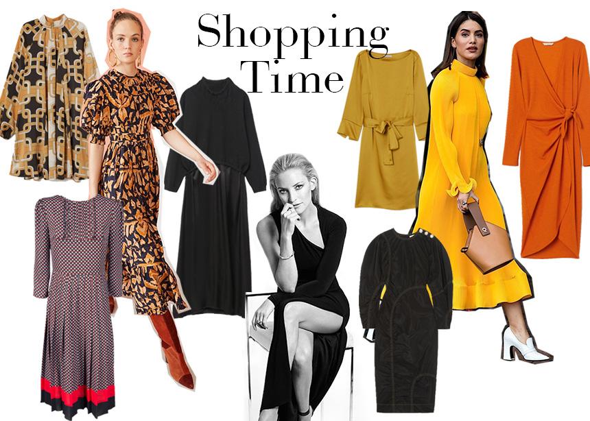 Shopping time: Φορέματα χρωματιστά, μαύρα ή με prints που θα ανανεώσουν το look σου! | tlife.gr