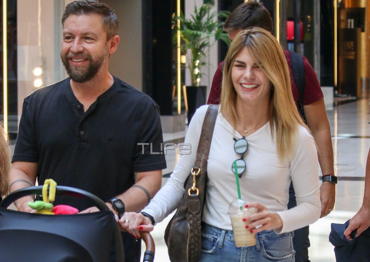 Γιάννης Βαρδής – Νατάσα Σκαφιδά: Για ψώνια με τον τεσσάρων μηνών γιο τους! [pics] | tlife.gr