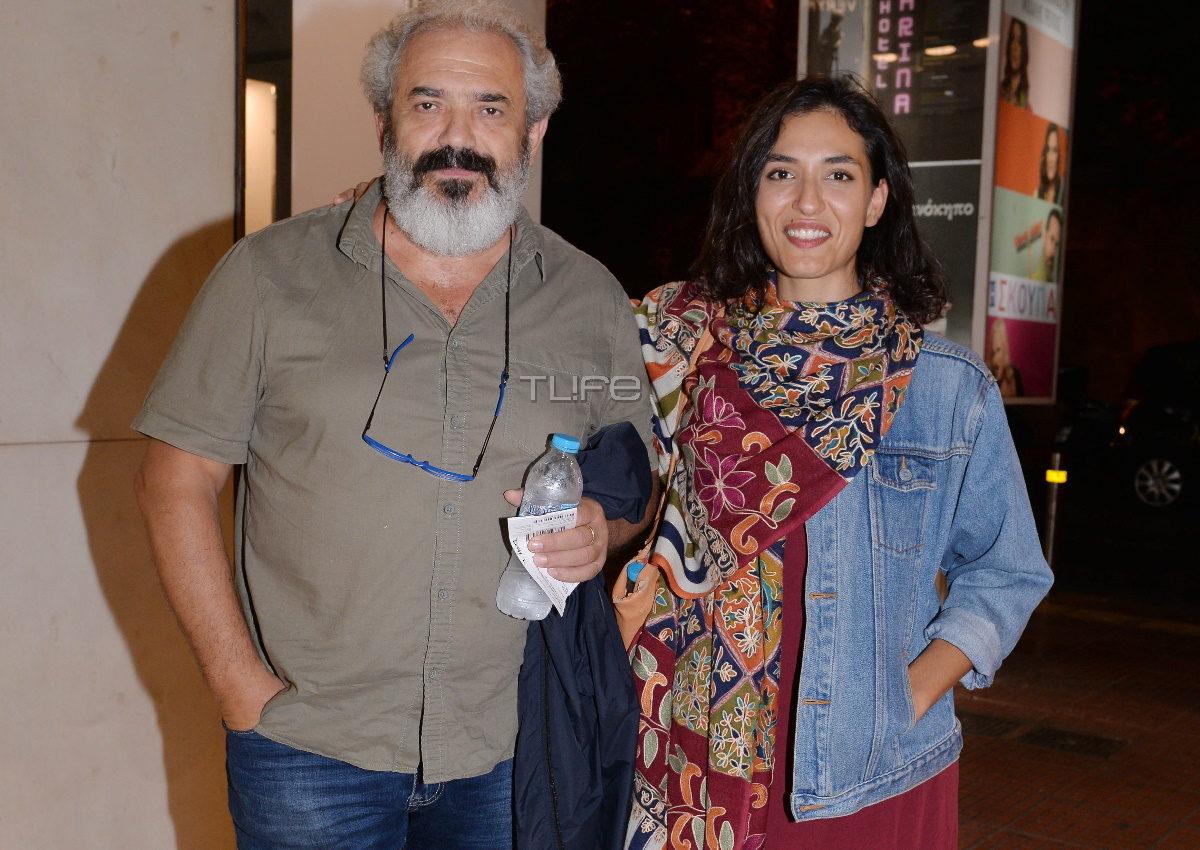 Ταξιάρχης και Μαρία Χάνου: Θεατρική βραδιά για μπαμπά και κόρη! [pics] | tlife.gr