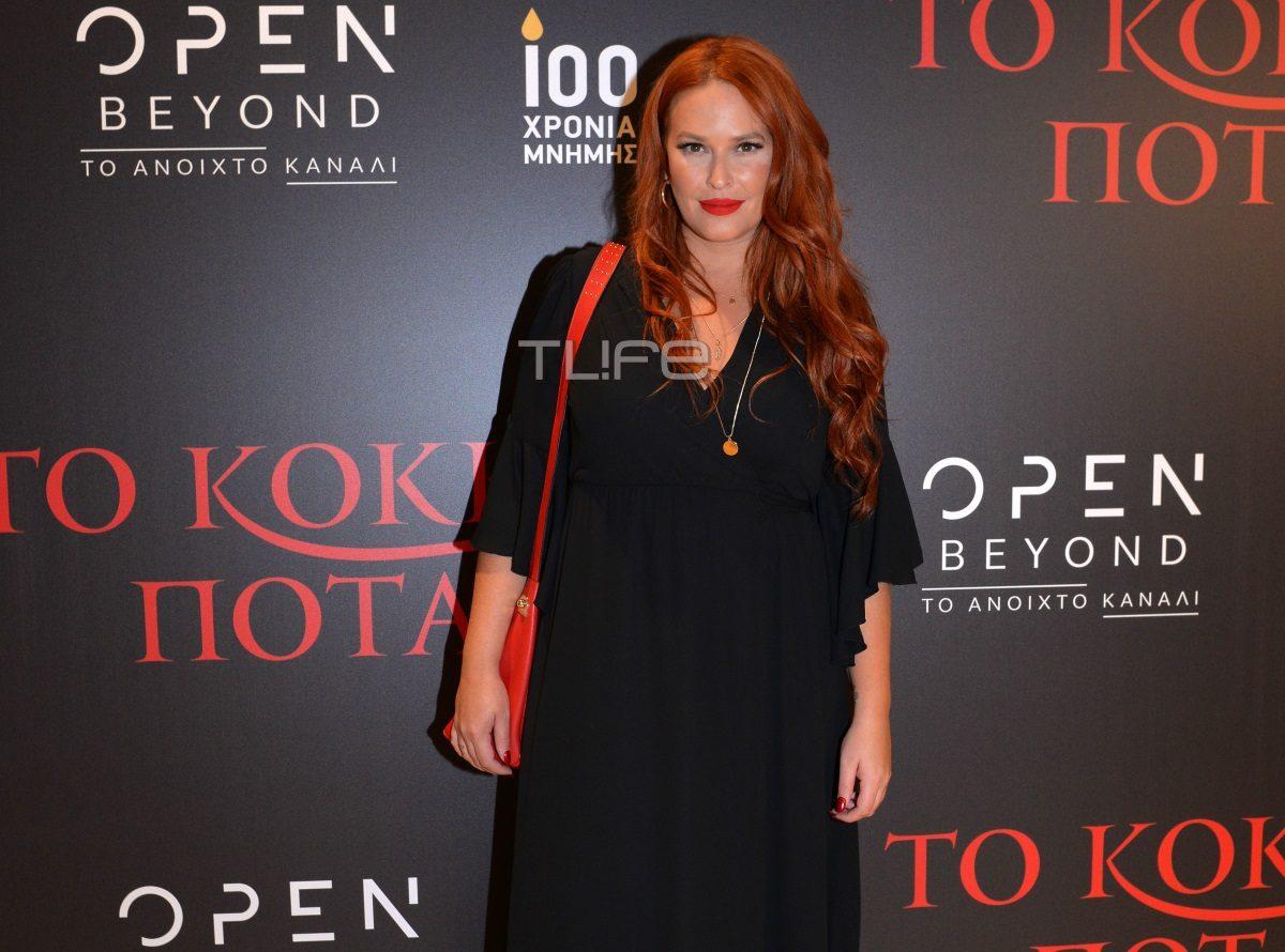 Σίσσυ Χρηστίδου: Με total black look στην παρουσίαση του «Κόκκινου Ποταμιού» [pics]   tlife.gr