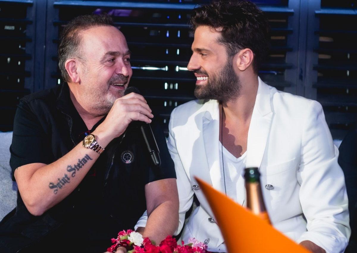 Ο Σταμάτης Γονίδης διασκέδασε στον Κωνσταντίνο Αργυρό! [pics,video] | tlife.gr